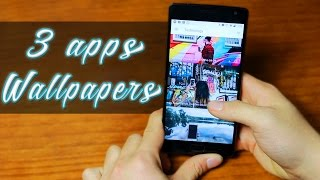 TOP 3 NUEVAS APPS DE WALLPAPERS, WALLPAPERS EN QHD