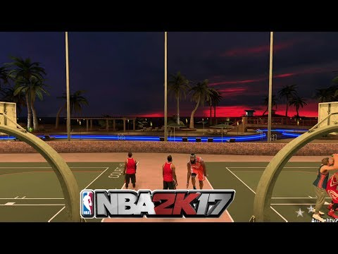 CP3 And James Harden Playing Together at the park !! NBA2K17