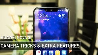 Huawei Nova 3i CAMERA Tricks & Best Extra Features | Zeibiz