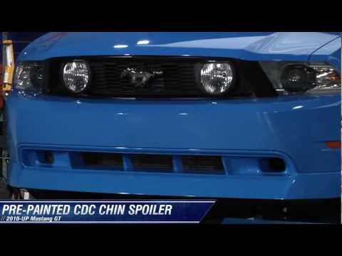 Mustang CDC Chin Spoiler - Pre-Painted (10-12 GT) Review