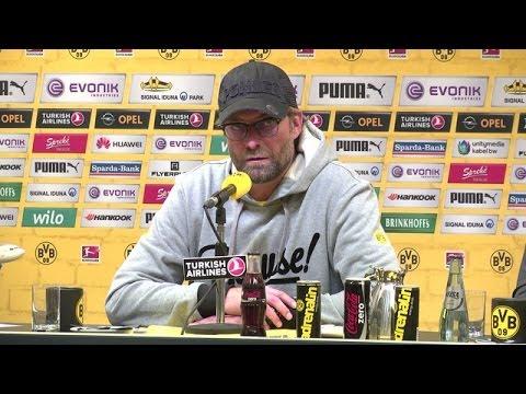 Pressekonferenz: Jürgen Klopp nach der Heimniederlage gegen Hannover 96 | BVB