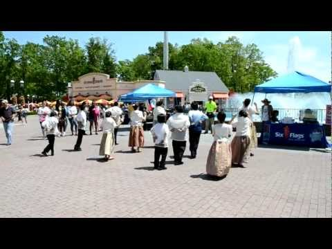 La Jota Moncadena Dance: Ffai Performance In Multi-cultural Event At Six Flags Great Adventure video