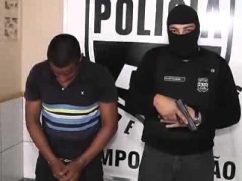 Polícia Civil apresenta acusado de assassinar Alanzinho