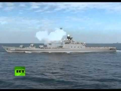 China Philippines navy spat captured on camera |