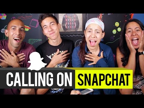 Calling viewers on Snapchat!