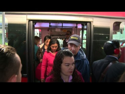 Bogota's chaotic transport, a challenge for next mayor