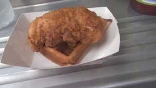 TEST Fried Chicken and waffles