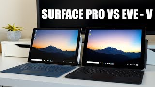 Eve V vs Microsoft Surface Pro Review: (NO LONGER AVAILABLE)