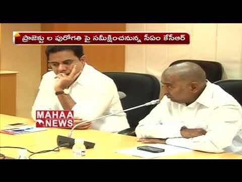 CM KCR Focus on Irrigation Project In Telangana   Mahaa News