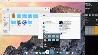 Tema MAC OSX Yosemite para Windows 7,8,10 y xp