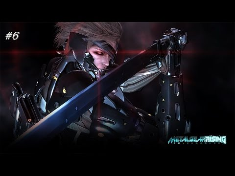 Metal Gear Rising REVENGEANCE ep 06   new enemies and sick combos