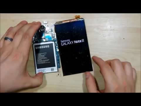 Samsung Note 2 LCD Removal - LOCA Glass Replacement - Part 3