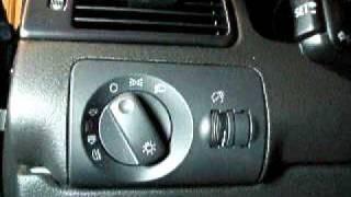 Audi allroad headlight switch removal
