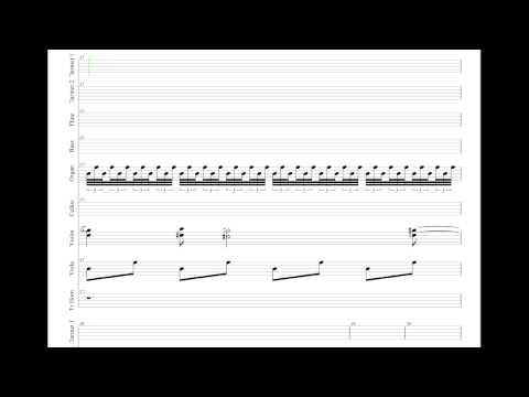 Jonny Greenwood - The Split Saber (Cover + Sheet)
