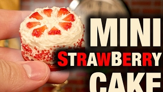 MINI STRAWBERRY CAKE!