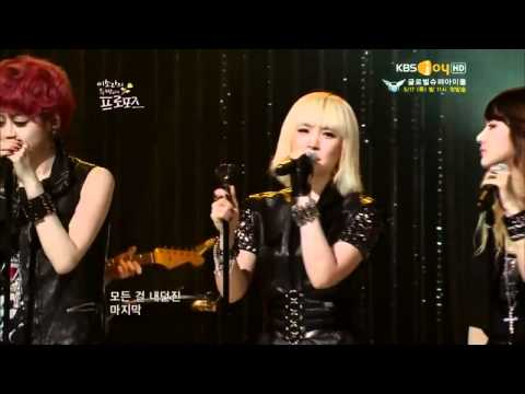 120515 Lee Sora's Second Proposal E53 SPICA - Russian Roulette
