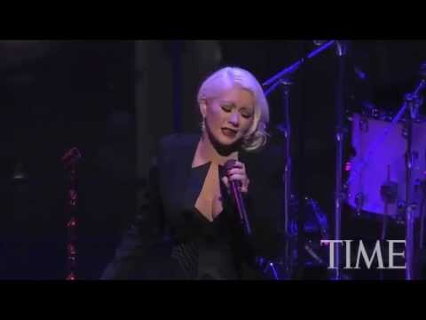 Christina Aguilera - Time 100 Most Influential People In The World