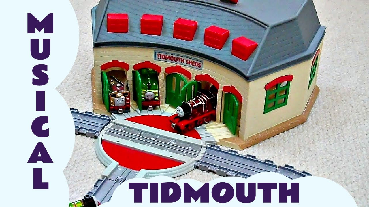 Take Along Thomas The Train Musical Tidmouth Sheds James