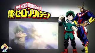 All Might and Deku VS Villains full fight from movie || The Two Heros ||