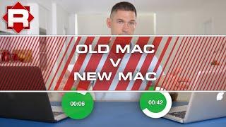 Old Mac (Upgraded) VS New Mac