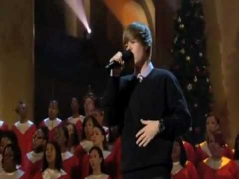 Justin Bieber singing 'Someday at Christmas' Traduzido #1
