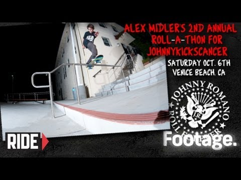 Skateboarding Fights Cancer – Roll-A-Thon For Johnny Kicks Cancer 2012