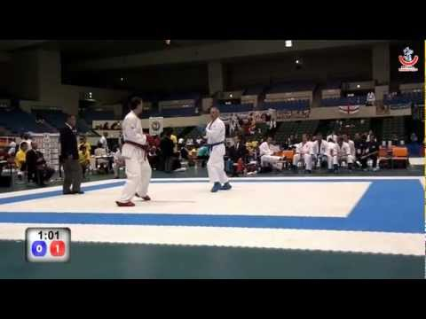 Wado World Karate-do Cup - MALE TEAM KUMITE - Spain vs U.S.A - Second Fight