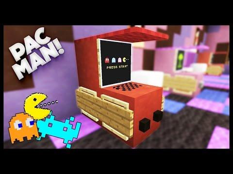 Minecraft - How To Make An Arcade Machine