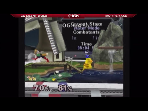 Super Smash Bros. Melee - The Closest Pikachu Fox Match Ever Played - Evo 2014