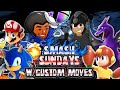 Smash Sundays #5 - CUSTOM MOVES VS StylesX2 (Smash 4 Wii U)