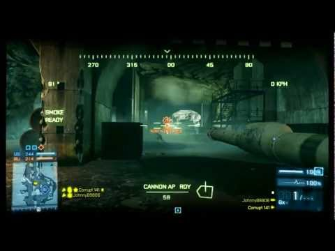 BF3 - Tank Tactics to Prepare for Armored Kill (Battlefield 3) [Corrupt141] Ep 1