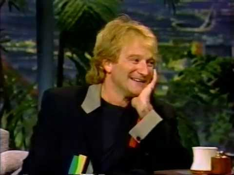 Robin Williams last appearance on Tonight Show with Johnny Carson 5/21/92