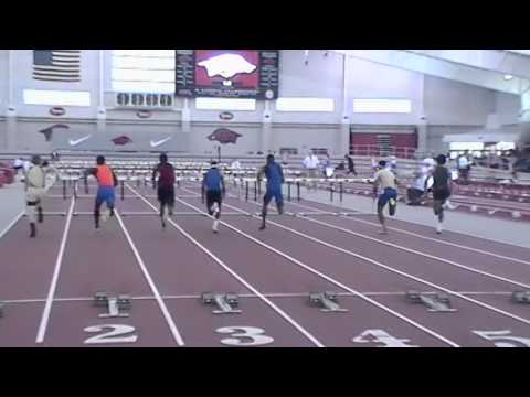 2014 60M Hurdles Boys Finals Arkansas High School Indoor
