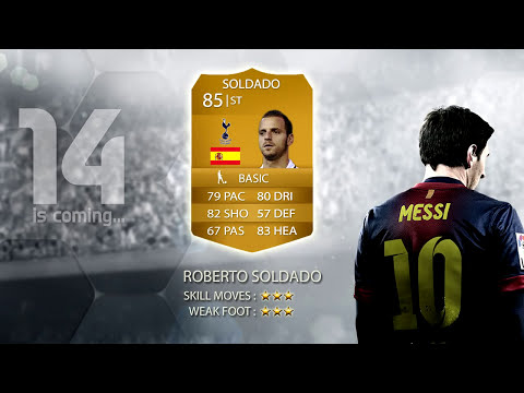 FIFA 14 Ultimate Team Predictions ft RVP,Silva,Agbonlahor & Spurs Soldado