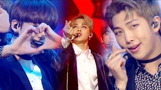 Sexy Bts 방탄소년단 Blood Sweat Tears 피 땀 눈물 A인기가요 Inkigayo 20161106