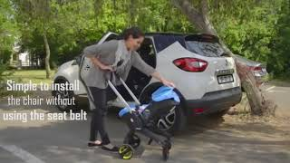 Baby car seat-Stroller | Two in one