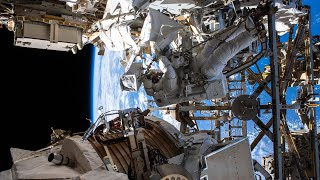 Alpha Magnetic Spectrometer Repair Spacewalk #3, Dec. 2, 2019