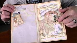 Machine Sewn Altered Book