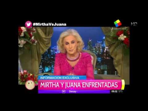 Juanita: Si tengo algo que decirle a Moyano se lo digo