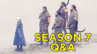 Game of Thrones Q&A - New Season 7 Predictions & Theories (WHO WILL DIE?)