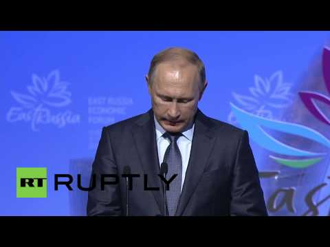 Russia: Putin says Russia can 'ensure accelerated growth' of Asia-Pacific countries