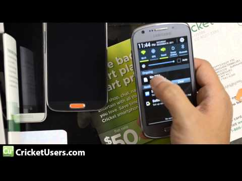 CricketUsers.com - Samsung Galaxy Admire 2 First Look and Unboxing