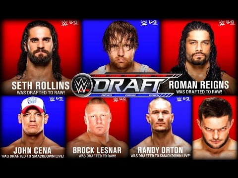 WWE Draft 2016 & SmackDown Live Results / Rollins Goes #1 / Battleground Predictions