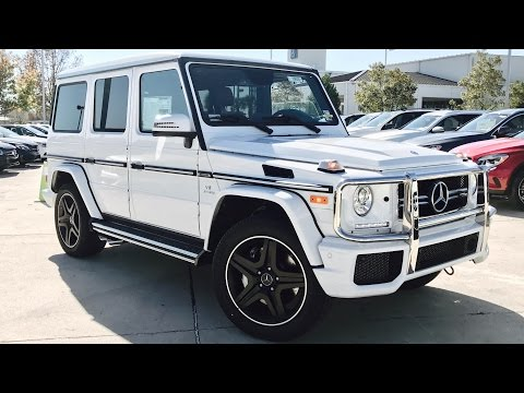 2017 Mercedes Benz G Class: G63 AMG Full Review /Exhaust /Start Up /Short Drive