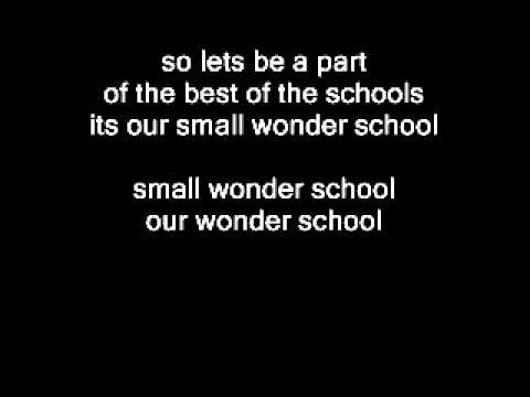 Amitabh Rao Jingle Composed For Small Wonder School With Lyrics .wmv video