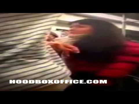 Black Girl Fight On Da Damn Train Again And Push Girl Off Train video