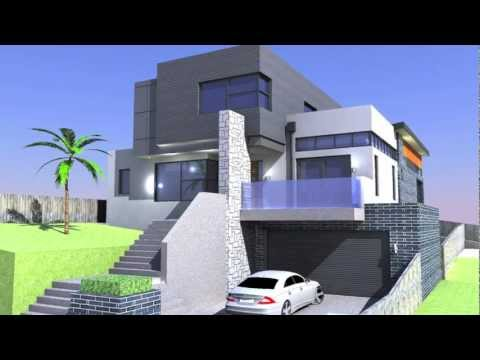 Proposed New Dwelling.Sketchup Pro. The Donis House @ mandella street ...
