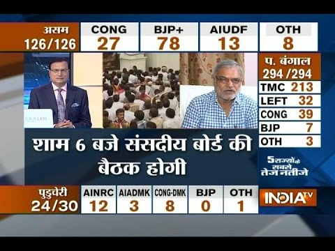 Assembly Elections Results 2016: Congress Must Review its Strategy after Big Loss