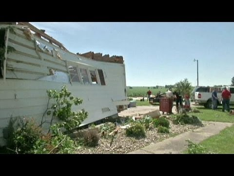Verwüstungen durch Tornado im US-Staat Michigan
