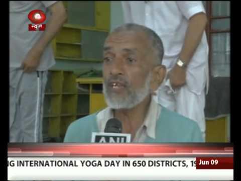 Meet Nizammuddin Sheihk, Yoga instructor in Ahmedabad